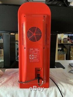 10 Can Retro Coca Cola Vending Machine Mini Fridge Soda Refrigerator Coke Cooler