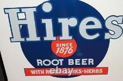 1930s Hires Root Beer Soda Coin Op Ideal 55 Cooler