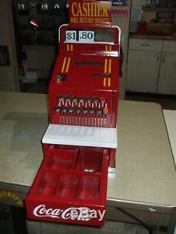 1936 Coca-Cola theme National Cash Register candystore soda art deco barber ncr