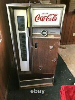 1950 Coke Machine, Cavalier, Coca-Cola, Vintage Coke Machine