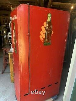1950's Coke Machine Vendo 110