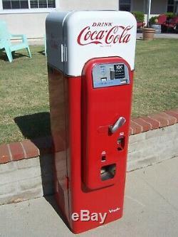 1950's Coke Machine Vendo 44 Unique Can Rack VMC Coca Cola 81