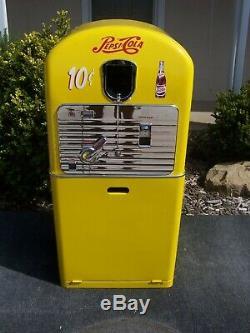 1950's Pepsi Cola Restored Vending Machine VMC 27 Complete & Working Vendo