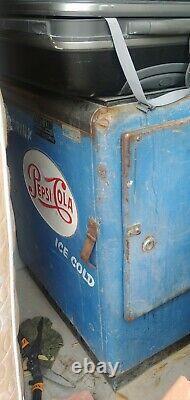 1950s/60s Ideal Pepsi Cola Refrigerator/Dispenser Working (Read Description)