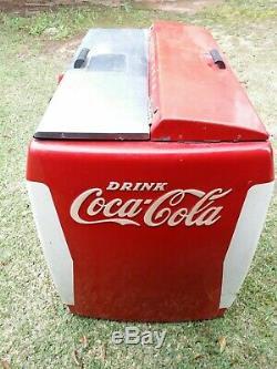 1950s Coca Cola Machine Westinghouse Model WH-12T Dry Cooler (Original Cond)