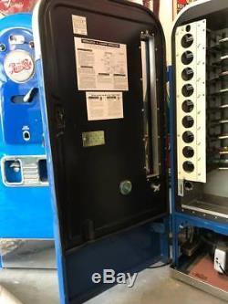 1950s Pepsi VMC 81 Embossed Soda Machine