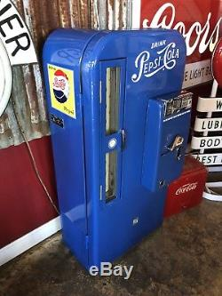 1950s Pepsi VMC 81 Machine restored Beautiful WILL SHIP