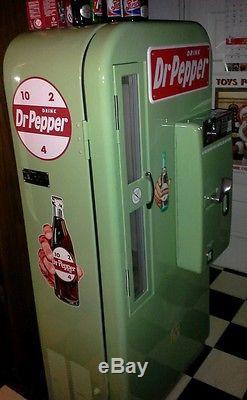 1950s VMC 81 Dr Pepper Coke Machine Professional Restoration Vendo soda 44 39 72