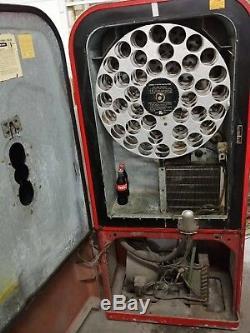 1950s Vendo 39 Coco-Cola Vending Machine