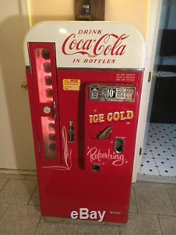1950s Vendo 81 B Coca Cola Coke Original machine WORKING