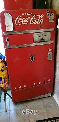 1950s vintage Coke machine 800.00 or best offer