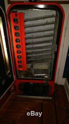 1955 Vintage Antique Coca Cola Soda Bottle Machine Model H81A Vendo