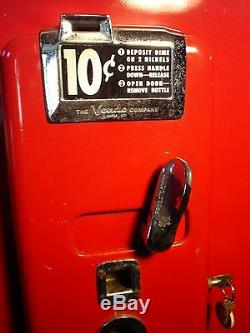 1956 Coca Cola COKE Vendo 110 (V-110) Vending Machine