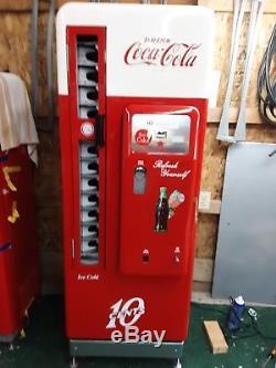 1958 Coca Cola Coke Machine Cavalier 96 Pro Restoration Vendo 81 BEST IN USA