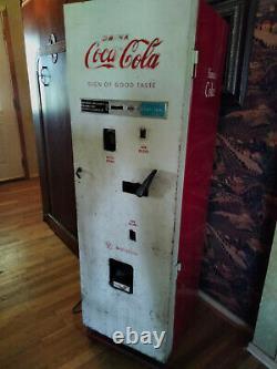 1958 Coca-cola Westinghouse Soda Machine Coke Vending