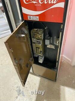 1960's vintage Coke Machine Vendo Coca Cola working cans man cave Union Made