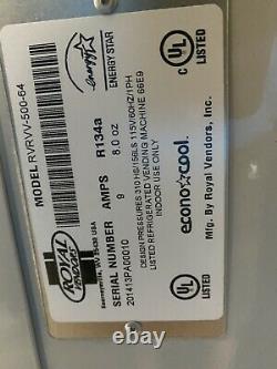 2014 Royal RVRVV 500-64 SODA WATER JUICE VENDING MACHINE SLIGHTLY USED
