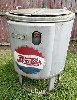 Antique 1950's Pepsi Cola Cooler By Deep-Freeze Model H-5 Super Rare