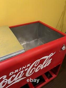 Antique Coca-Cola Cooler Coke Machine Just Reduced
