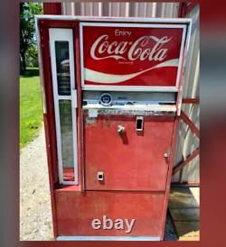 Antique Coca Cola Vintage Coke Machine Red Original