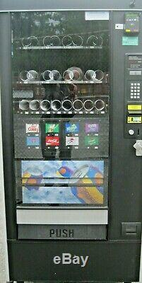 Automatic Products Canned Soda and Snack Combination Vending Machine withCC Reader