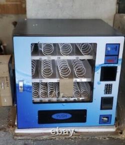 Brand New In Box Seaga Vc16s Combo Snack Soda Vending Machine CC Reader Ready