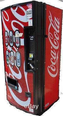 COCA-COLA BUBBLE FRONT ROYAL RVCC-550-6 SODA VENDING MACHINE Free Shpg #7