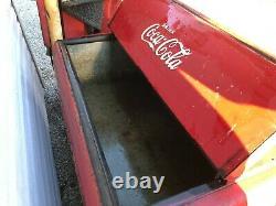 COCA COLA Ice Cooler, Chest, coke machine