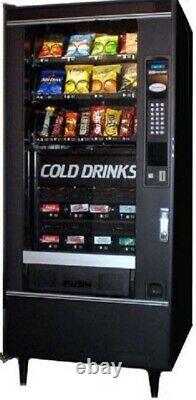 CRANE 484 Refreshment Center 2 COMBO Snack & Soda Vending Machine LOCATION READY