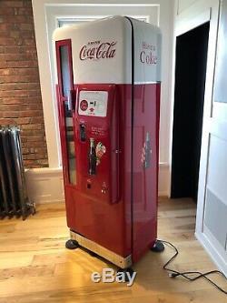 Cavalier 96 Coca Cola Vending Machine Professionally Restored