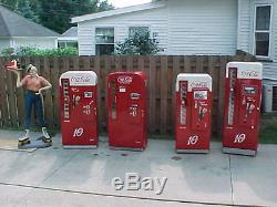 Classic American Coca Cola Coke Machines Vendo 81 39 56 44 Pro Restoration vmc