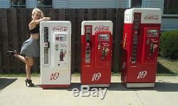 Coca Cola Coke Machine Cavalier 72 Pro Restoration VENDO 81 BEST IN USA 34 Ford