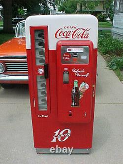 Coca Cola Coke Machine Cavalier 72 Pro Restoration Vendo 81 BEST IN USA! 96 44