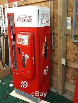 Coca Cola Coke Machine Cavalier 96 Professional Restoration Vendo 81 BEST IN USA