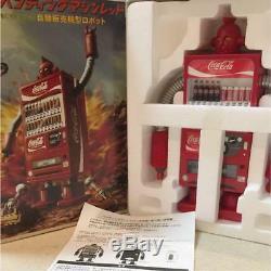 Coca Cola Coke Vending Machine Robot Red Figure 1/8 from Japan