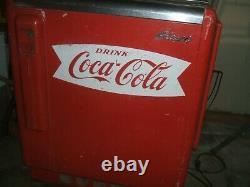 Coca Cola GLASCO Machine Floor OLD NICE Motor Works