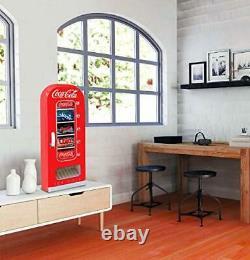 Coca-Cola Retro Vending Machine Style 10 Can Mini Fridge/Cooler, 12V