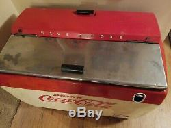 Coca Cola chest 1950s Westinghouse Model WH-12T Dry Cooler