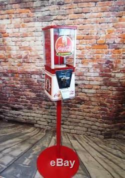 Coca cola Coke vintage gumball nut candy machine game room coke memorabilia