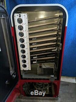 Coca cola coke machine vendo 81B Fully Restored 1950's soda machine pepsi 7up