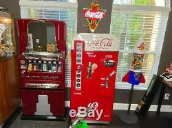 Coca cola coke vintage vending machine