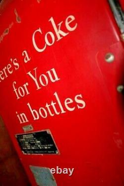 Coke Coca Cola Vendo 80 V-80 Soda Vending Machine Rare. Working + Free Bonus