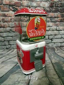 Coke Coca cola gumball machine glass man cave gift Coke spirit boy
