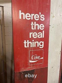 Coke Coka Cola Soda Vendo Machine H126A Original Works