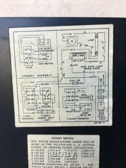 Coke Coka Cola Soda Vendo Machine H63 1959 Original Works Pick Up ONLY