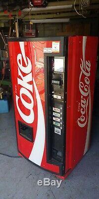 Coke Machine works needs new lock