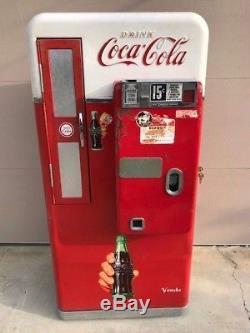 Coke coca cola soda machine vendo 56 also 110 44 81 Pepsi 7up 1950 Will Ship