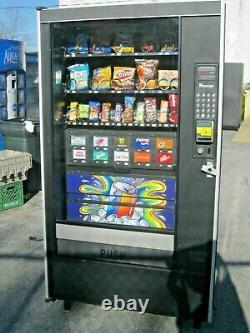Combination Canned Soda/Snack Vending Machine LCM4 Credit card reader