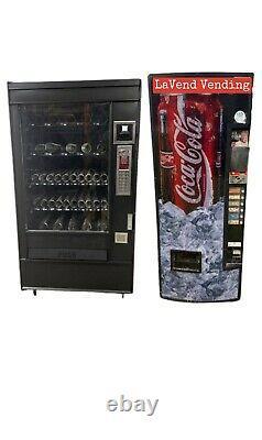 Combo Bundle AP 4500 & Vendo 276 Snack/Soda Vending Machines