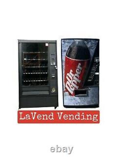 Combo Rowe 5900 Snack/ Vendo 480 Soda Vending Machines FREE SHIPPING